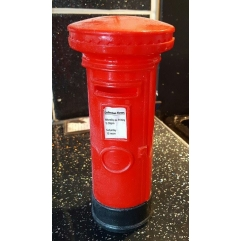 Traditional British post box mould