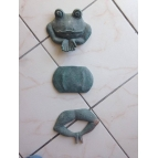 3 PIECE SET FROG MOULDS Details