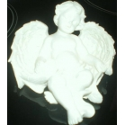 Sleeping Cherub in wings