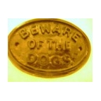 Beware of the Dog/Dogs Plaque
