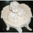 Cherub and baby in..