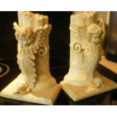 Beautiful Large Cherub Bookends