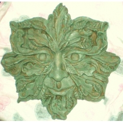 lovely tree face plaque