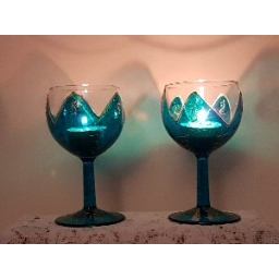 pair of Turquoise Glasses