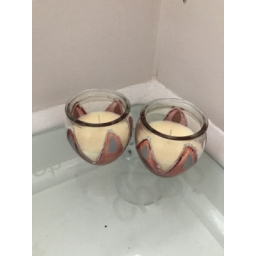Pair of Vanilla Candles