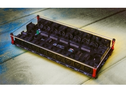 MINDBURNER 20 way MIDI thru splitter and top cover, Studio Edition