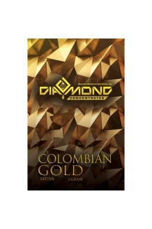 Diamond Concentrates Colombian Gold