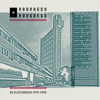 V/A PROPHECY + PROGRESS: UK Electronics 1978 - 1990 LP title=