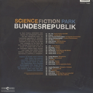 V/A Science Fiction Park Bundesrepublik German Home Recording Tape Music Of The 1980s 2 x LP