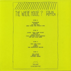 COLIN POTTER The Where House 2 x LP