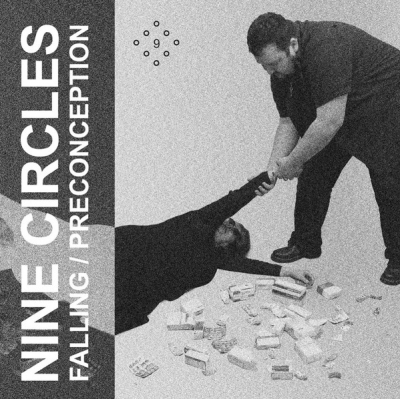 "NINE CIRCLES Falling / Preconception 7"" E.P. title="