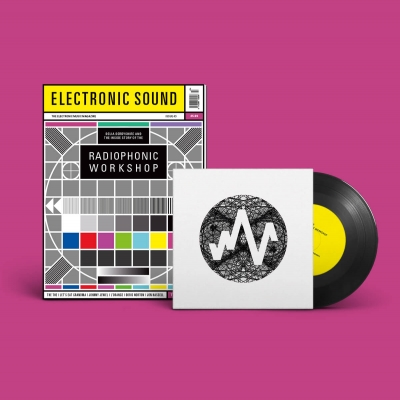 "ELECTRONIC SOUND ISSUE 43 Magazine + 7"" BUNDLE title="