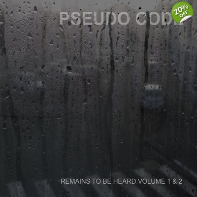 PSEUDO CODE Remains To Be Heard Volume 1 & 2 2 x CD title=