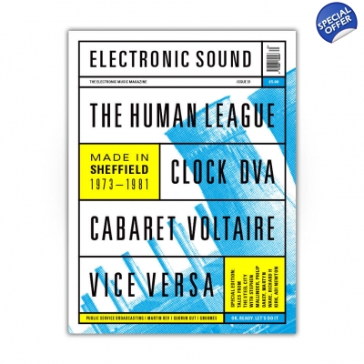 ELECTRONIC SOUND ISSUE 31 Magazine title=
