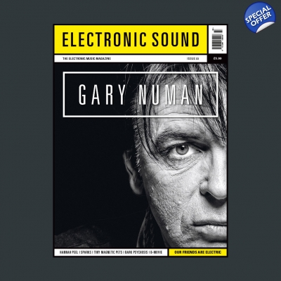 ELECTRONIC SOUND ISSUE 33 Magazine title=