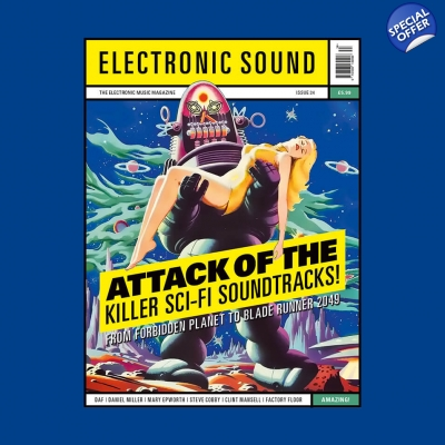 ELECTRONIC SOUND ISSUE 34 Magazine title=