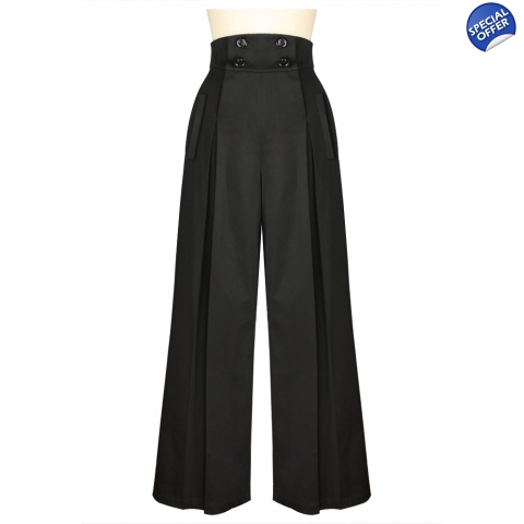 Pleat Front Pants