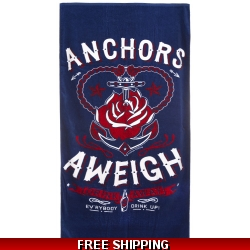 Anchors Aweigh Towel