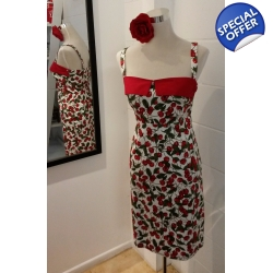 Cherry Pencil Dress - N..