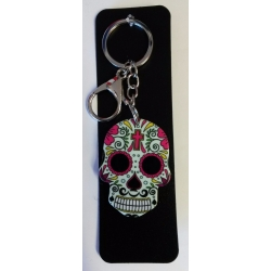 Sugar Skull Key Rings