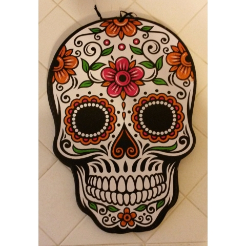 Sugar Skull Wall Hanging