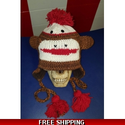 Monkey Woolen Hat