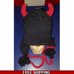 Devil Woolen Hat