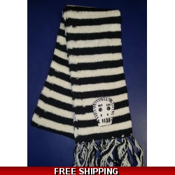 Striped Skull Woolen Sc..