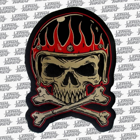 Vintage Helmet Patch - Large
