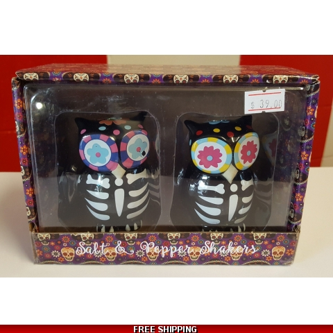 Day of the Dead Salt & Pepper Shakers