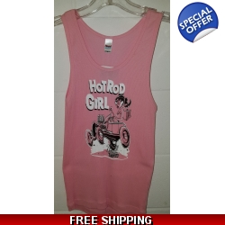 Hot Rod Girl Tank