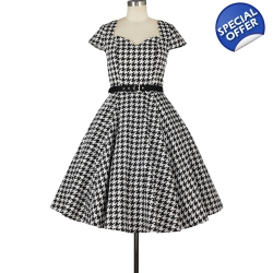 Houndstooth Dress