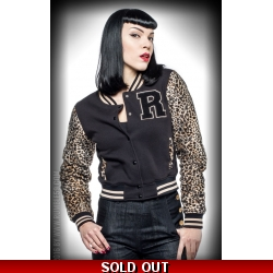 Leopard College Jacket ..