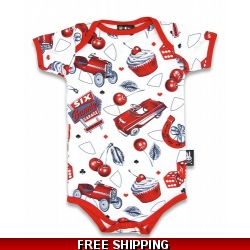 Cherry Garage Onesie