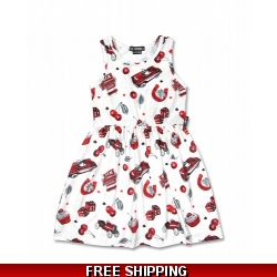 Cherry Garage Dress