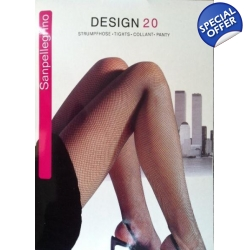 Pink Fishnet Tights