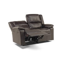 Windsor Recliner 2 Seater Brown