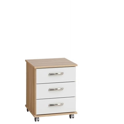 Regal 3 drawer bedside