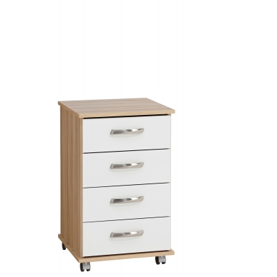 Regal 4 drawer bedside