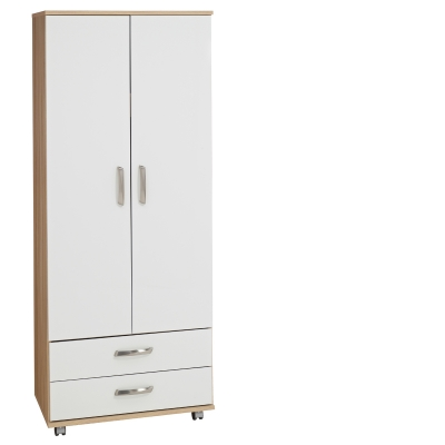 Regal 2 Door Wardrobe+ 2 Drawers