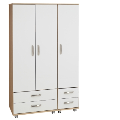 Regal 3 Door Wardrobe + 4 Drawers