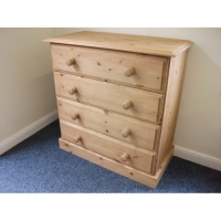 Budget pine 4 drawer chest