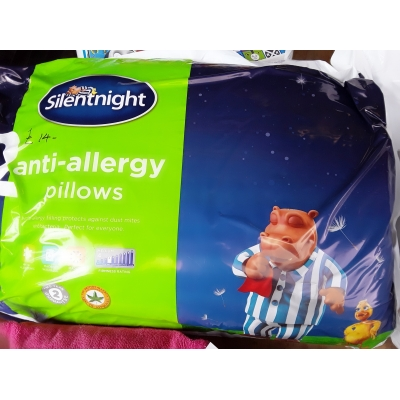 Silentnight antiallergy 2 pillows pack