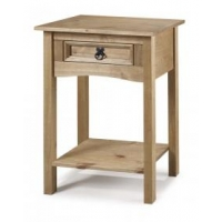 Corona console table 1 drawer wit..