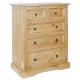 Corona chest 3+2 drawer wide