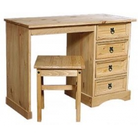 Corona Dressing Table 4 Drawer & ..