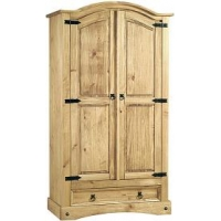 Corona Wardrobe 2 Door and Drawer