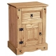 Corona Nightstand 1 Door & 1 Drawer
