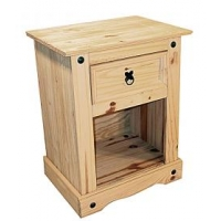 Corona Nightstand 1 Drawer
