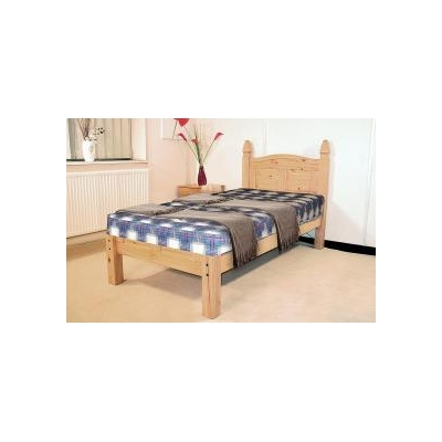Corona pine bed low foot end